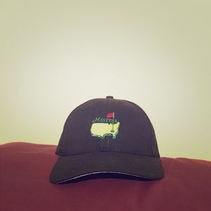 Official Black Masters Hat